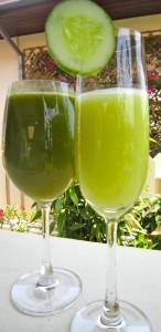 Gröna drinkar
